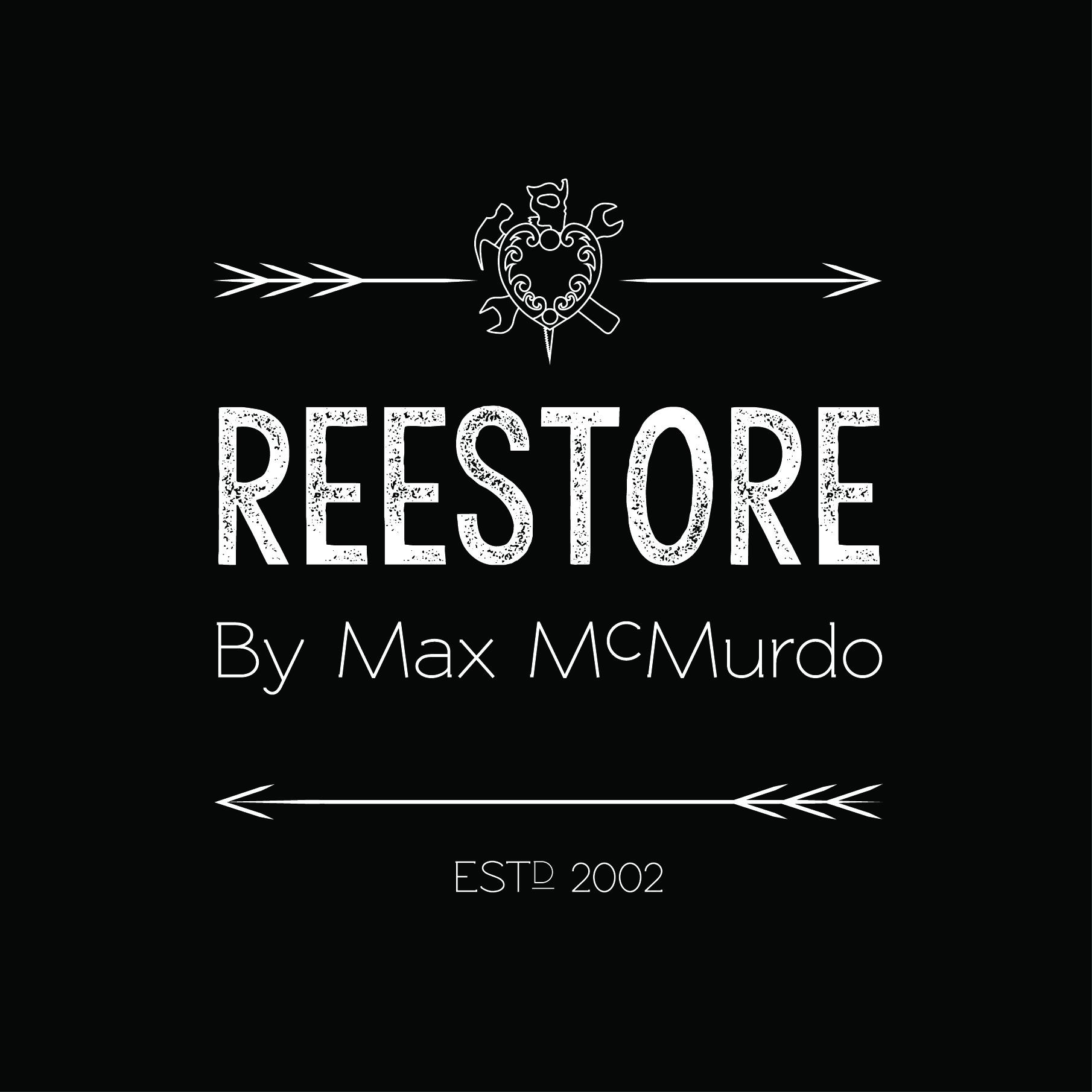 Reestore by Max Mcmurdo Logo JPEG