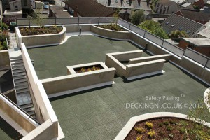 DNI - Safety Paving -Roof Garden Newtownards