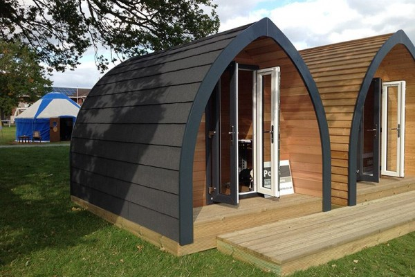 Pods by Future Rooms - wooden cabin
