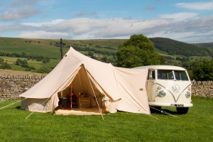 Glawning supply the worldu0027s most glamorous canvas bell tent awnings to attach to c&ervans or permanent structures such as shepherd huts. & Not just an Awning; itu0027s a Glawning - The Glamping Show